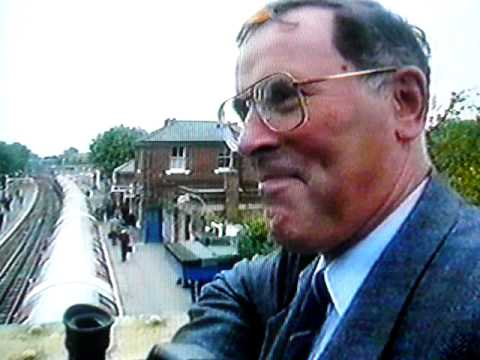 Epping Ongar railway closure TV report