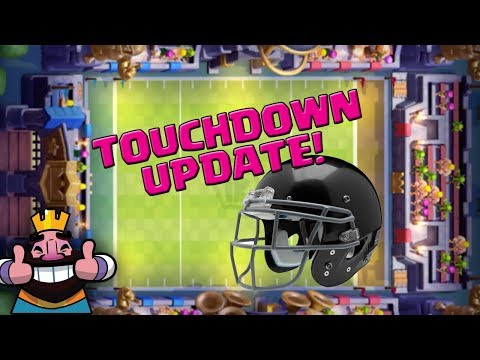 Clash Royale Touchdown Training || Update || Let's Play CR