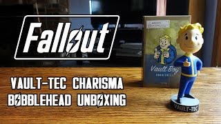 fallout 3 vault 101 charisma thumbs up bobblehead by gaming heads unboxing review hd 1080p