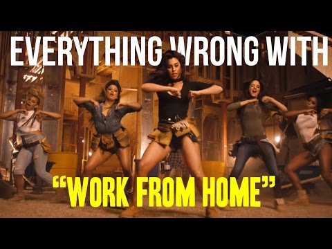 """Everything Wrong With 5th Harmony - """"Work From Home"""""""