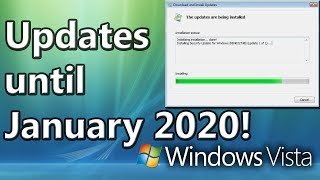 [Tutorial] How to Get Updates for Windows Vista from Microsoft until 2020 (with Server 2008 updates)