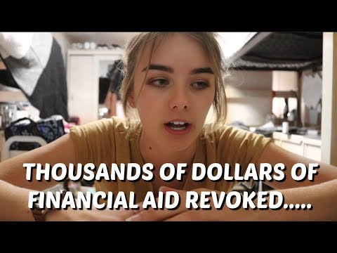 My university seriously screwed up my financial aid...