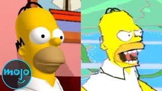 Top 10 der besten und schlechtesten Simpsons-Videospiele