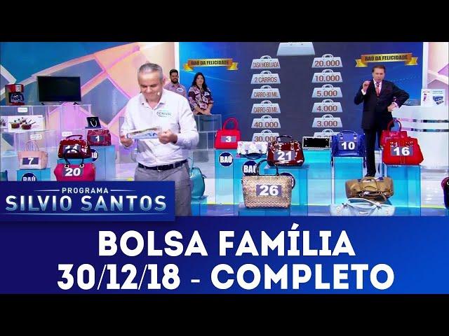 Bolsa Família - Completo | Programa Silvio Santos (30/12/18)