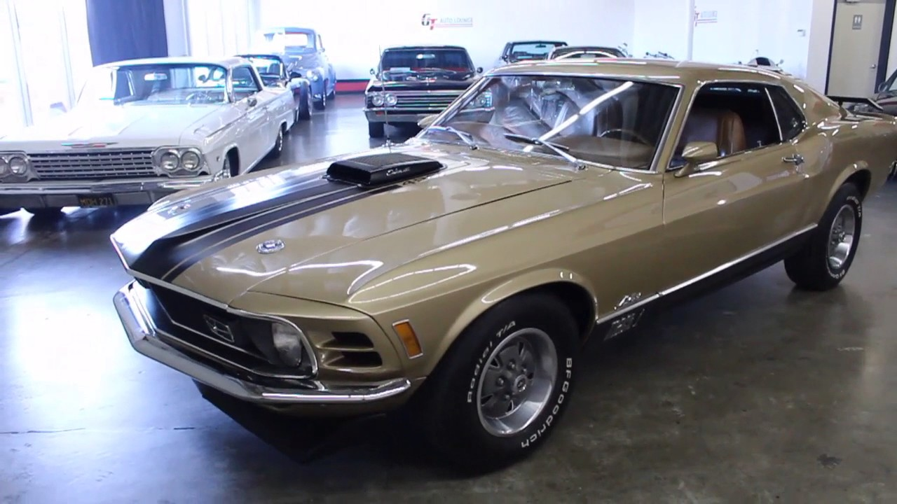 1970 ford mustang mach 1 428 super cobra jet for sale at gt auto lounge