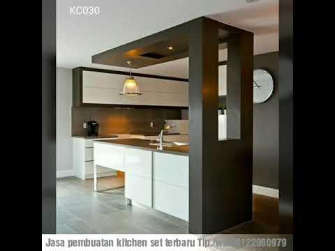 Harga Kitchen Set Terbaru Ll Model Paling Elegan Youtube
