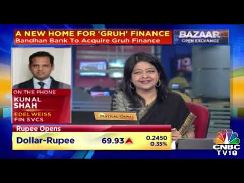 Bandhan Will Benefit From Gruh Due The Large Platform It Has Created For Hsg Loans, Says Keki Mistry