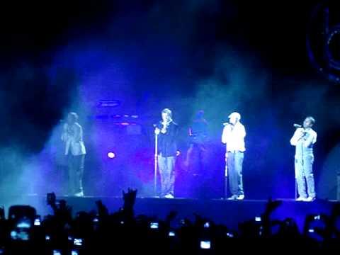 BSB - Nunca te haré llorar (I'll Never Break Your Heart) - Caracas 2009