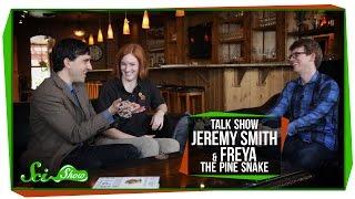 SciShow Talk Show: Writer Jeremy Smith, Measuring Health & Freya the Pine Snake