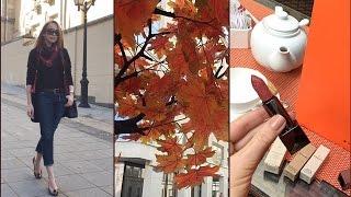 Vlog #Московская осень / покупки /кафешки /приколы за кадром