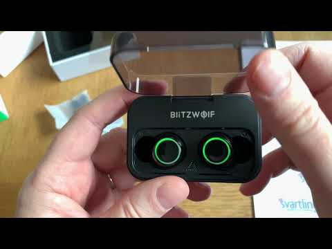 Blitzwolf BW-FYE3 True wireless headphones from Banggood unboxing and test!