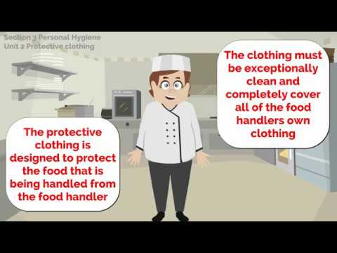 Food Safety Level 2 Section 3 Unit 2 Protective Clothing