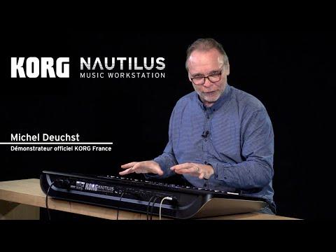 Workstation KORG NAUTILUS - la présentation complète avec Michel Deuchst (vidéo de La Boite Noire)