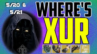 where s xur xurs location today may 20 may 21 5 20 5 21