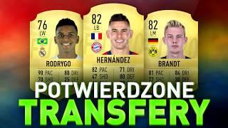 FIFA 20 | TOP 10 dotychczasowych POTWIERDZONYCH TRANSFERÓW