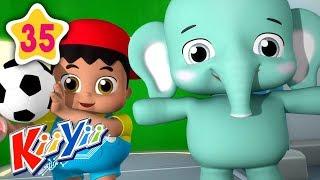 Big And Small | Plus More Nursery Rhymes | by KiiYii | Nursery Rhymes & Kids Songs
