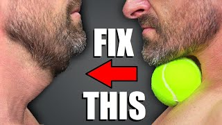 5 Simple Ways to LOSE a Double Chin! (STRONGER JAW & LOSE FACE FAT)