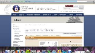 Using the CIA World Factbook