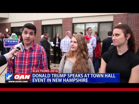 OANN Exclusive: Trump In New Hampshire