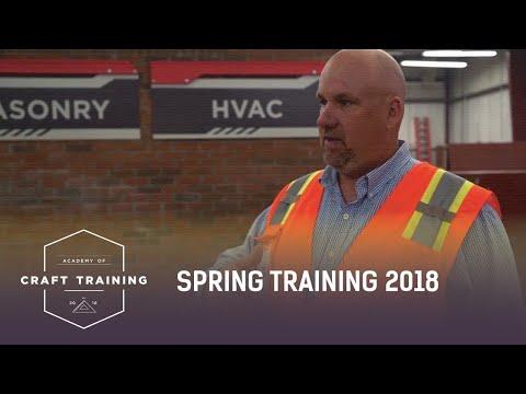 ACADEMY OF CRAFT TRAINING : SPRING TRAINING 2018