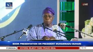 Olusegun Obasanjo Speaks At Book Presentation On President Muhammadu Buhari