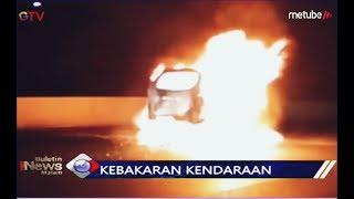 Sebuah Minibus Ludes Terbakar di Tol JORR Arah Pasar Rebo - BIM 21/08