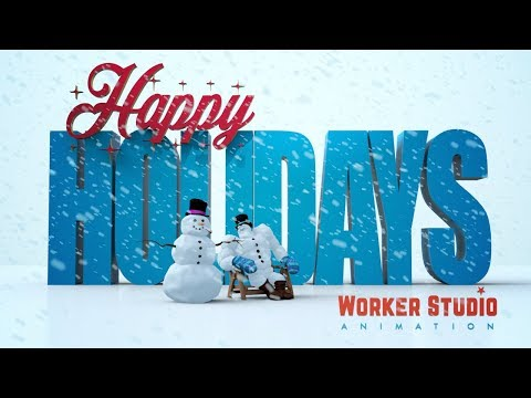 Worker Studio's: Barnabus Sno Holiday Greeting 2017