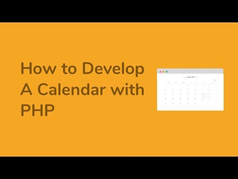 A Calendar With PHP (Starting With Monday)