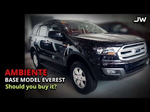 Ford Everest Ambiente 4x2 AT review -Better than the Mux LS, Montero GLS and Fortuner? -Philippines