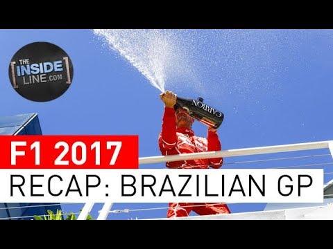 F1 NEWS 2017 - RACE RECAP: BRAZILIAN GRAND PRIX [THE INSIDE LINE TV SHOW]