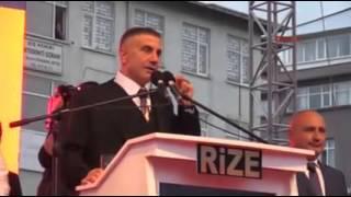 Rize'de teröre lanet mitingi düzenleyen ve sözleriyle tepki çeken S...