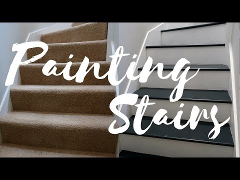 DIY DECORATING AND PAINTING STAIRS | LONDON HOUSE | INTERIOR | Claire Imaginarium
