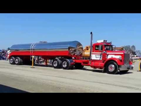 Tulare Antique Farm Show-Truck Parade 2013