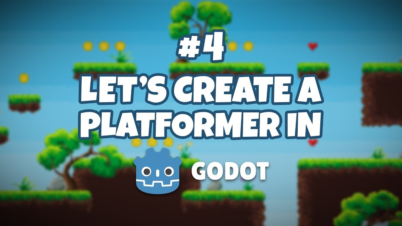 Godot Engine Platformer Game #4 - Creating Monsters For Our Game