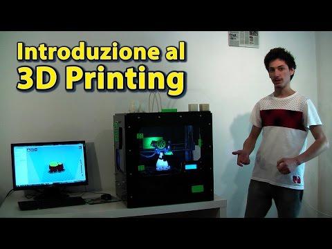 """Stampante 3D - Come funziona una stampante 3D e impiego di """"Cura"""" per lo slicing di un modello"""