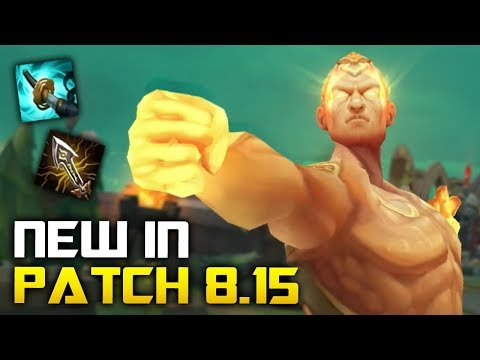 All New Changes in Patch 8.15 - LEE SIN IS BACK! (League of Legends) thumbnail