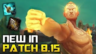 All New Changes in Patch 8.15 - LEE SIN IS BACK! (League of Legends)