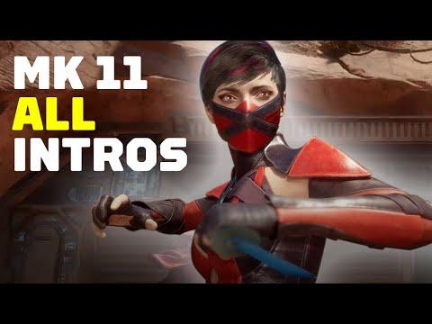 Mortal Kombat 11: All Intro Dialogues So Far in 4K 60FPS