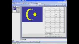 Drawing Malaysian Flag using PowerPoint 2003