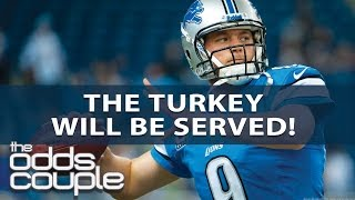 NFL Picks | The Odds Couple | Thanksgiving Day With Doug Upstone