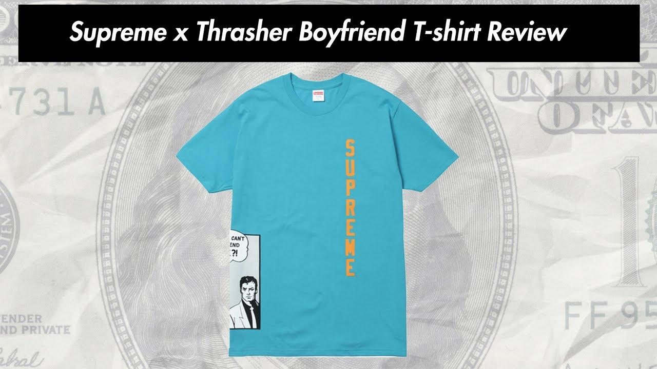 4bfdfbd55b2467 Supreme x Thrasher 17SS