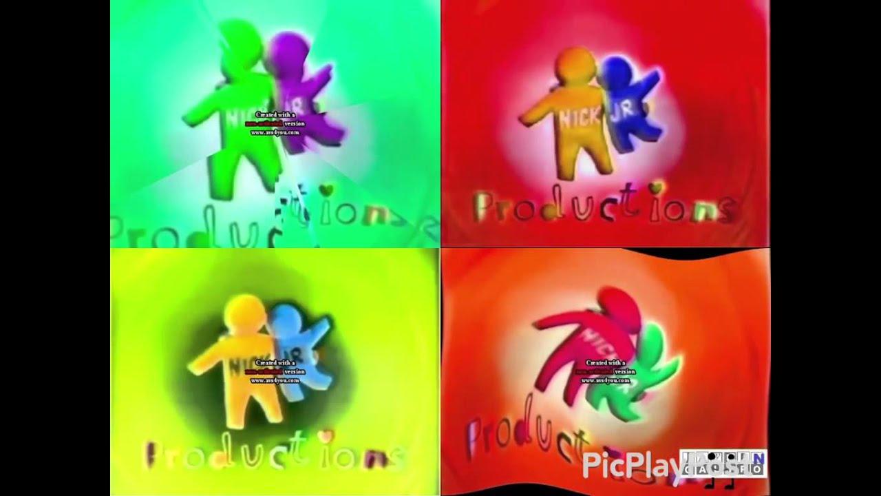 noggin and nick jr logo collection quadparison 1 youtube