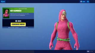 New-Skin Flamenco King,Garden Leader,Demogorgon Shop Fortnite Aujourd'hui 6 juillet 2019