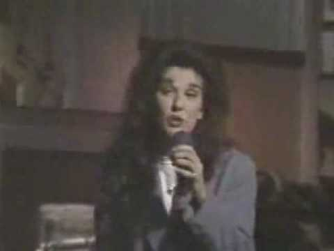 celine dion -  if you asked me to live at regis and kathie lee 1992
