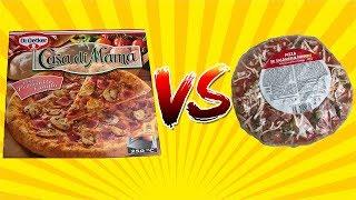 Nejlevnější VS. Nejdražší supermarketová pizza!