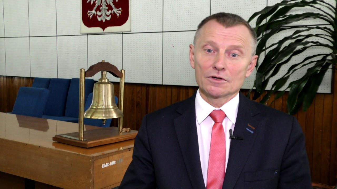 Burmistrz Jacek Michalski o zagrożeniu powodziowym w gminie Nowy Dwór Gdański – 30.10.2017