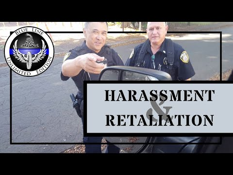 MILITARY POLICE HARASSMENT AND RETALIATION - ID REFUSAL - 18 U.S.C. Chapter 37 Title 795 DEFINED