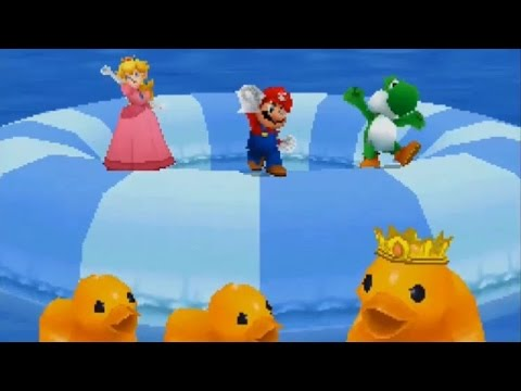 Mario Party Ds All 1 Vs 3 Minigames Youtube