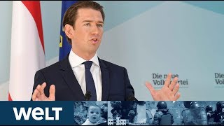 KRISE IN ÖSTERREICH: Kanzler Kurz will Entlassung des Innenministers vorschlagen