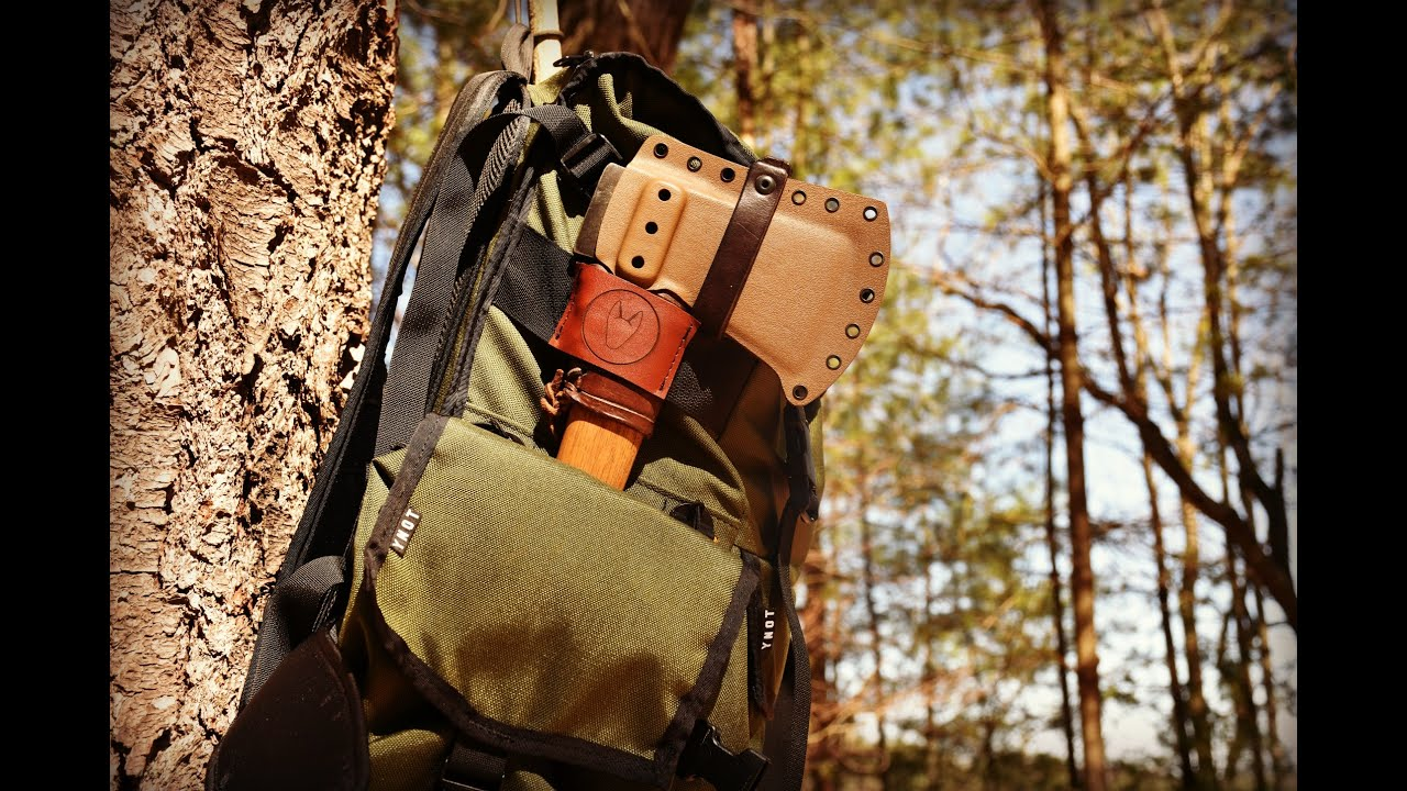 Bushcraft Backpacking New Pack And Gear Loadout Youtube